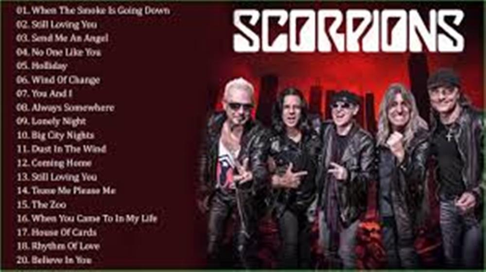 Download Koleksi Lagu Mp3 Terbaru Scorpions Full Album TERPOPULER