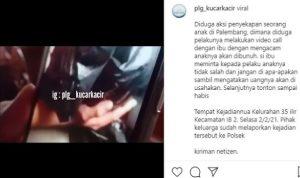 Viral ! Video Anak Palembang Disekap di Mobil, Ibu Menangis Minta Jangan Disakiti
