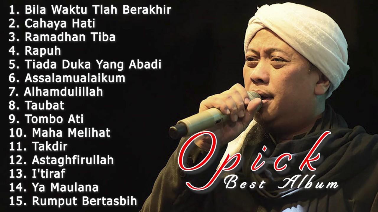 Download Gratis Lagu Mp3 Opick Religi Terpopuler Sepanjang Masa!