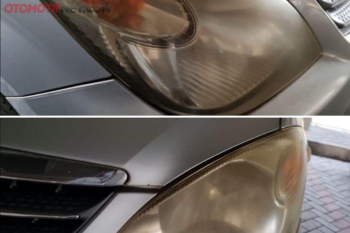 Headlamp Mobil mu Buram Parah, Tenang! Bisa Bening Lagi Disemprot Ini!