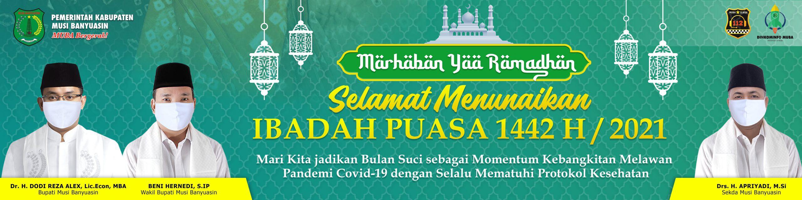 Kabupaten Muba Menyambut Puasa Ramadhan Tahun 2021