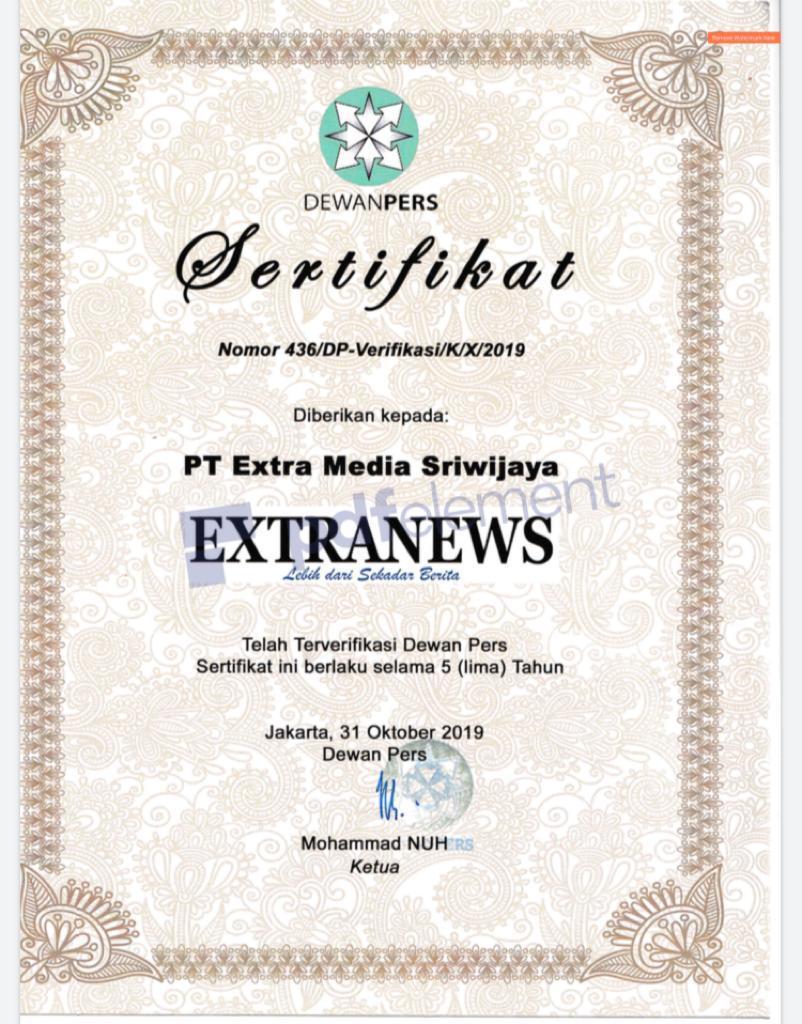 Media Extranews Terverifikasi faktual Dewan Pers