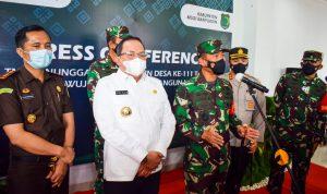 Pangdam II Sriwijaya Apresiasi Semangat Bupati Dodi Reza Bangun Daerah Pelosok