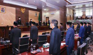 Bupati Muba Sepakati Saran dan Masukan DPRD Atas 3 Raperda