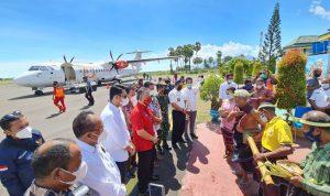 LEWOLEBA di Lembata! Kota Tujuan Baru ke-140 Wings Air Resmikan Penerbangan Perdana dari KUPANG