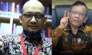Mahfud MD Kenal Baik Novel Baswedan: Kalau Saya Presiden, Dia Jaksa Agung