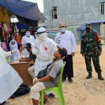Pedagang di Musi Banyuasin Antusias Ikuti Swab dan Vaksin
