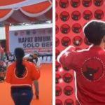 Video Viral Pria Parodikan Aksi Puan Maharani Joget saat Kampanye, 'Kepakkan Sayapmu'