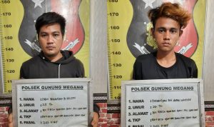 Dua Pelaku Curanmor Dibekuk Aparat Polisi Muara Enim