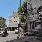HEBOH! Ada Lagi Mural Mirip Jokowi di Pangkalpinang