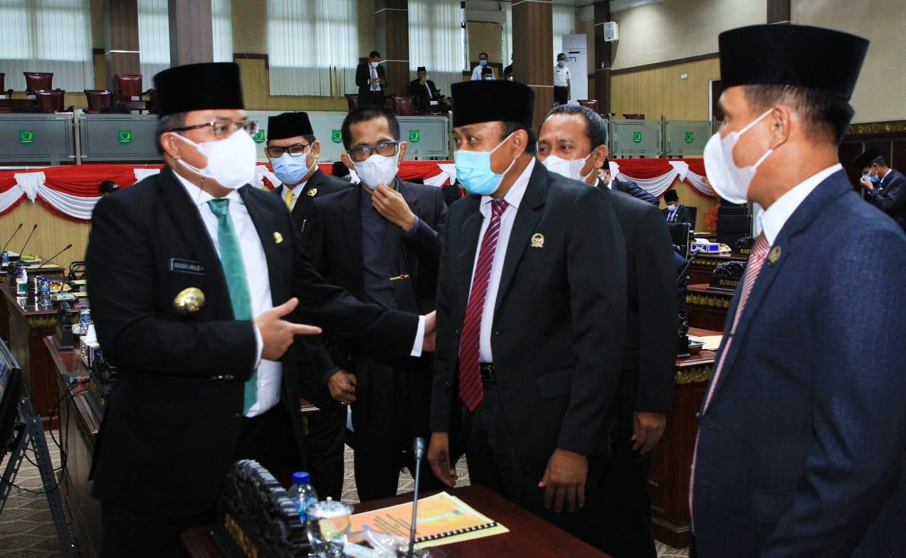 SYAH!! Eksekutif dan Legislatif Muba Setujui RAPBD-P Muba Tahun 2021