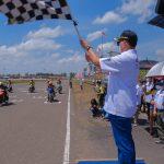Muba Sukses Gelar Event Kejurnas Motoprix Piala Presiden 2021