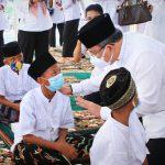 Jelang HUT Muba ke-65, Bupati Dodi Reza Beri Santunan Anak Yatim dan Dhuafa