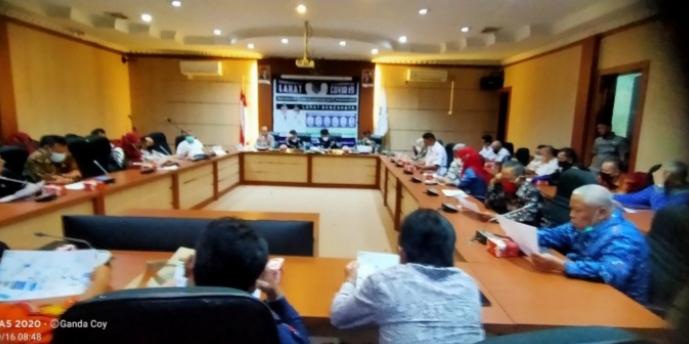 Rapat Koordinasi Pembahasan One Way Street Di Kabupaten Lahat