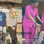 Seli dan Alwi, Penyandang Difabel, Terima Kursi Roda Bantuan Kapolres OKU Selatan