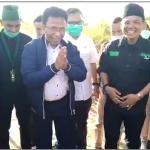 VIDEO! Meriahnya Peletakan Batu Pertama Pembangunan Sekretariat MD KAHMI Ogan Ilir