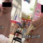 Viral!! Cewek Tepergok Mencuri di Minimarket, Pas Ditegur Malah Lebih Galak