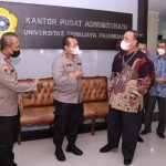 Kapolda Sumsel Silahturrahmi dengan Rektor Universitas Sriwijaya