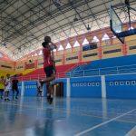 Tim Basket Muara Enim Intensifkan Latihan Jelang Porprov ke-XIII di OKU Raya