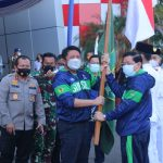 Gubernur Herman Deru Melepas Kontingan Sumsel ke PON XX Papua