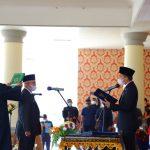 Bupati Panca Mawardi Ingatkan Sekda H Muhsin Abdullah Bahwa...