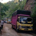 Jalan Lintas Pagaralam-Lahat Sudah Normal Bisa Dilintasi