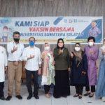Universitas Sumatera Selatan Siapkan Kuliah Hybrid, Mahasiswa Divaksin Massal