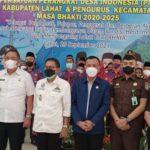 Pengukuhan Pengurus PPDI Dan Pengurus Kecamatan di Kabupaten Lahat Periode 2020 - 2025