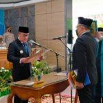 Pelantikan Sekretaris Daerah Pemerintah Kabupaten Lahat