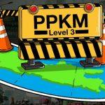 "MUARA ENIM, PPKM Level 3 Berlanjut Hingga 20 September"" Sabar yo?"