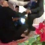 VIDEO Miris!! Talak Usai Ijab, Mempelai Pria Ditendang Mertua