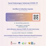 Sertifikat Vaksin Jokowi Beredar Heboh!, Gus Nadir: Kok Keamanan Data Aplikasi PeduliLindungi Kayak Gini?