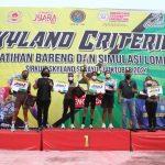 Lomba Balap Sepeda dalam rangka HUT TNI ke-76 di Musi Banyuasin