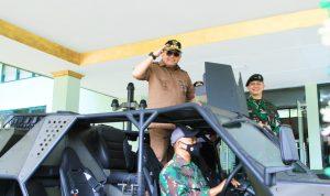LAGI! Perangkat Desa Muba Latihan Kepemimpinan dan wawasan Kebangsaan oleh Batalyon Infanteri Raider 300/Brajawijaya