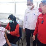 Peserta Didik Tingkat SMA di Muba Tuntaskan Vaksin Tahap Dua