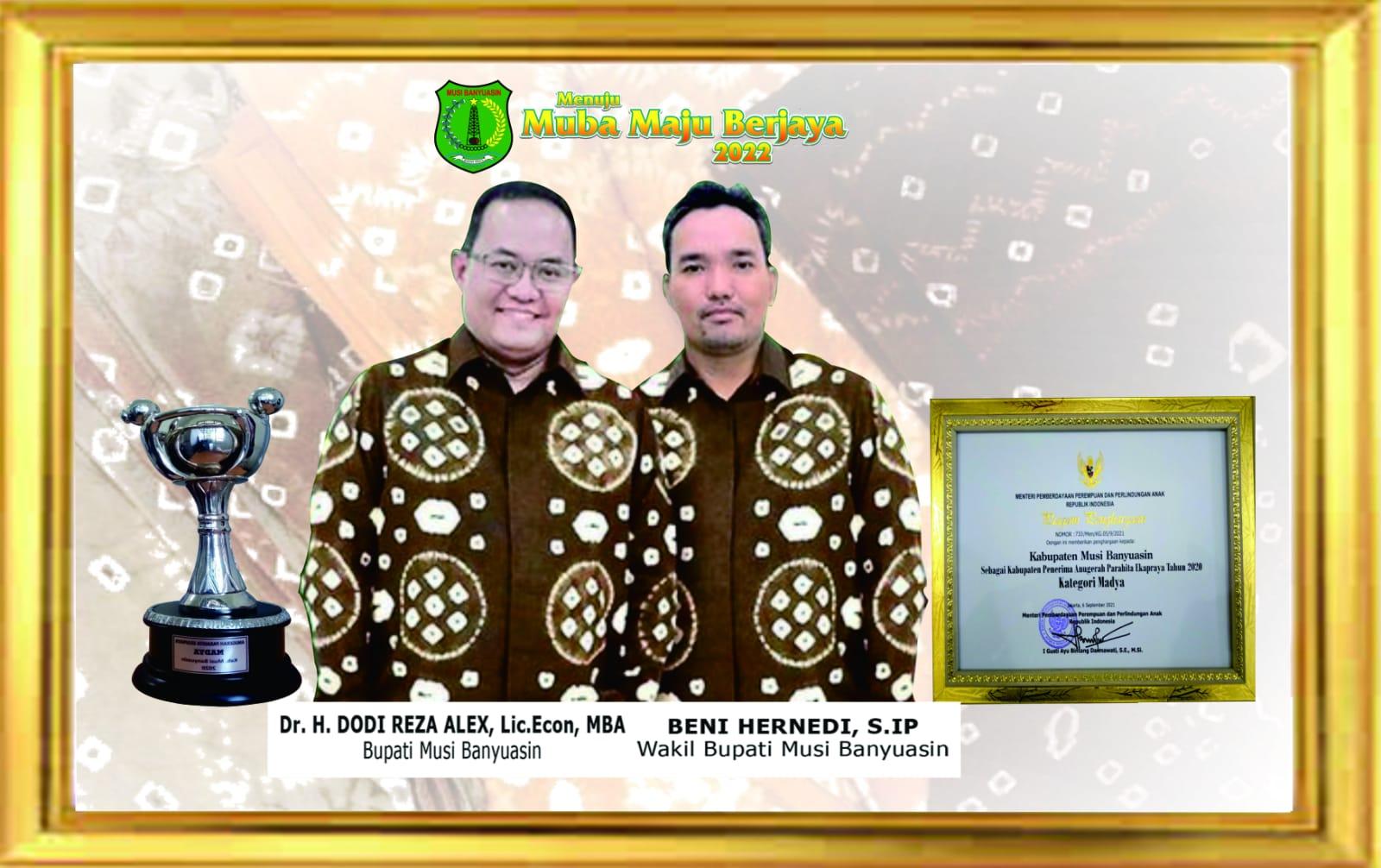 Muba Raih APE Tingkat Madya, Capaian Tertinggi di Sumsel dan Ketiga di Indonesia