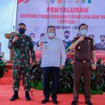 Kodim 0401 Muba Launching Penyerahan BTPKLW-TNI