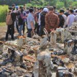 Miris!! Masjid Sriwijaya Dikorupsi hingga Besi Tiang Proyek Dicuri