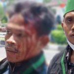 Pentung Kepala Mahasiswa Saat Demo 2 Tahun Jokowi-Maruf, Oknum Polisi di NTB Diusut Propam