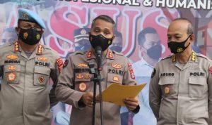 Polisi yang 'Smackdown' Mahasiswa Pendemo di Tangerang Ditahan