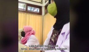 VIDEO, Nyesek! Wanita Ini Harus Layani Mantan saat Pemeriksaan Kesehatan, Begini Reaksinya