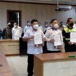 MoU Pengelolaan Limbah Sisa Aktivitas Produksi FABA antara PT SBM, PT BPI dan Prusda Kabupaten Lahat