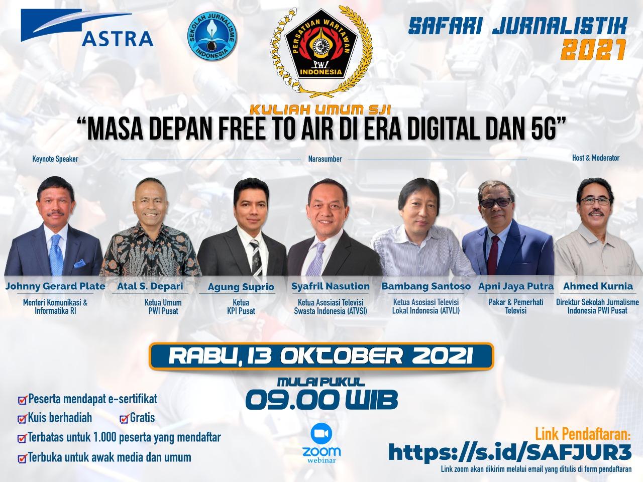 """Ikutilah Safari Jurnalistik PWI Pusat """"yang Berhadiah Jutaan Rupiah"""