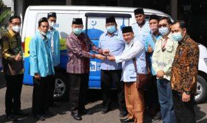 Bantu Mobil Operasional, Dukung Program Gerebek Masjid