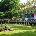 Apel Serper Pengamanan Pilkades Serentak Kabupaten Muara Enim tahun 2021