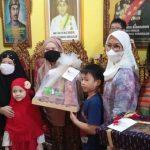 Bhayangkari Daerah Sumsel Kunjungi Istana Adat Kesultanan Palembang Darussalam