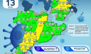 Kabupaten Muara Enim dan 17 Kecamatan Zero Kasus