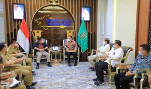 Joncik Muhammad Bersama Pengurus KAHMI Sumsel Silahturahmi dengan Gubernur Herman Deru