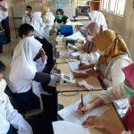 Siswa SMPN 19 Palembang Gelar Vaksin Pertama dan Kedua