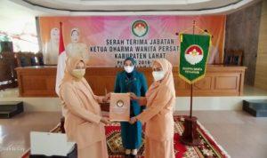 Serah Terima Jabatan Ketua Dharma Wanita Persatuan Kabupaten Lahat Periode 2019-2024